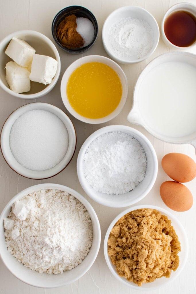 cinnamon roll cake ingredients